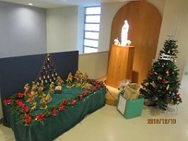 クリスマスを祝う飾り